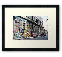 Hosier Lane, Melbourne Framed Print