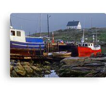 Nova Scotia--Peggy's Cove Canvas Print