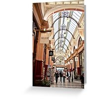 The Block Arcade, Melbourne Greeting Card