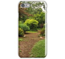 Gardens at Whitehall iPhone Case/Skin