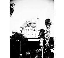 Hollywoods Hallow  Photographic Print