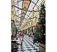 The Royal Arcade, Melbourne Photographic Print