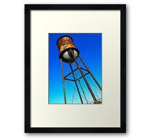 Study of Water Tower One Framed Print