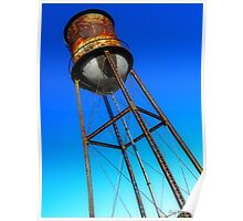 Study of Water Tower One Poster