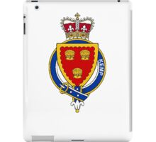 Coat of arms (family crest) for last-name or surname Kemp (England) . Heraldry banner for your name. iPad Case/Skin