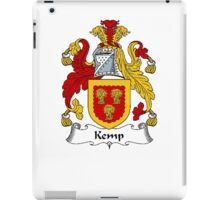 Coat of arms (family crest) for last-name or surname Kemp . Heraldry banner for your name. iPad Case/Skin