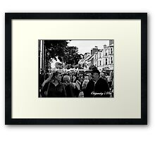 Allergic to love! Framed Print