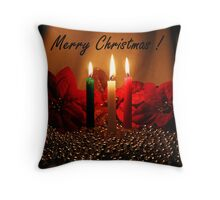 Christmas Cards Series #4 Throw Pillow