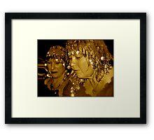 Misstress Di  Framed Print