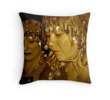 Misstress Di  Throw Pillow