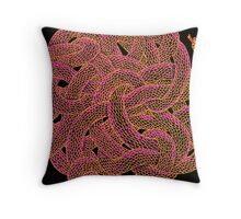 Snakes with Haloes Political Season Throw Pillow