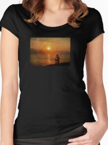 My Brilliant Image Women's Fitted Scoop T-Shirt