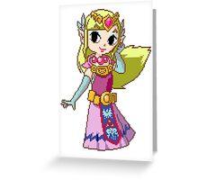Zelda - pixel art Greeting Card