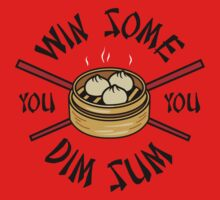 You Win Some You Dim Sum // Cute Funny Food Pattern  Kids Tee