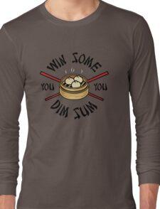 You Win Some You Dim Sum // Cute Funny Food Pattern  Long Sleeve T-Shirt