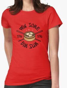You Win Some You Dim Sum // Cute Funny Food Pattern  Womens Fitted T-Shirt