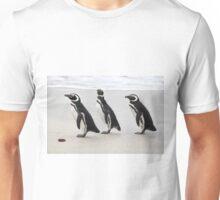 Magellanic Penguins on the Beach Unisex T-Shirt