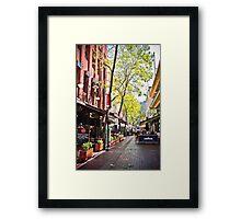 Hardware Lane, Melbourne Framed Print