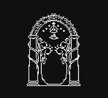 Moria's door - pixel art Unisex T-Shirt