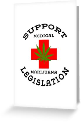 Support Medical Marijuana by MarijuanaTshirt