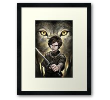 GoT - Game of Thrones : Arya Stark Framed Print