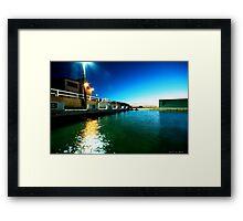 Newcastle Baths at Sunrise Framed Print