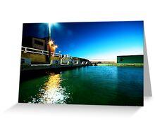 Newcastle Baths at Sunrise Greeting Card