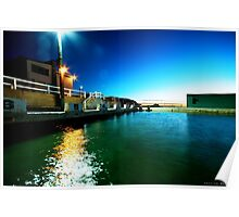 Newcastle Baths at Sunrise Poster