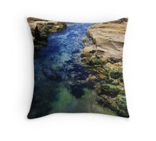 Rockpools Throw Pillow