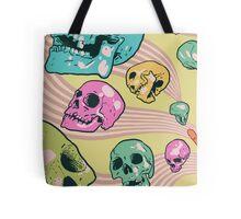 Candy Skulls Tote Bag