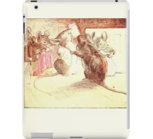 The Tailor of Gloucester Beatrix Potter 1903 0015 Mice Dressing iPad Case/Skin