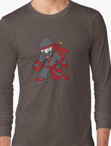 Ninja - Flat colours Long Sleeve T-Shirt