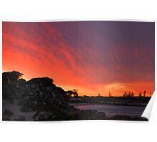 Sunset - Thomson Bay Rottnest Island Poster