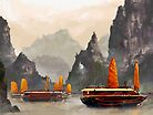 Ha Long Bay by MicaelaDawn