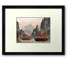 Ha Long Bay Framed Print