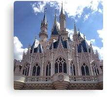 Cinderella's Castle - Disneyworld Canvas Print