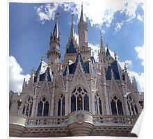 Cinderella's Castle - Disneyworld Poster