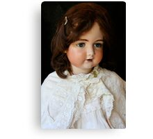 Vintage French doll Canvas Print