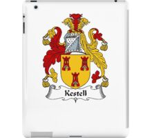 Coat of arms (family crest) for last-name or surname Kestell . Heraldry banner for your name. iPad Case/Skin