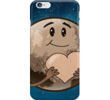 Pluto offers his heart iPhone Case/Skin