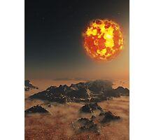 Dying Sun Photographic Print
