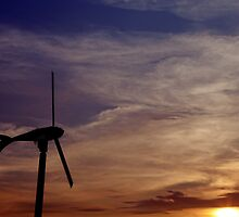 Dawn of renewable energy. by Gwoeii