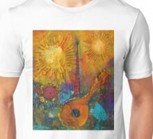 The Banjo and The Tambourine Unisex T-Shirt