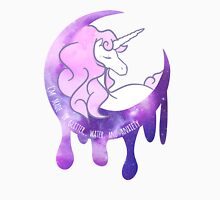 Melty Unicorn Womens Fitted T-Shirt