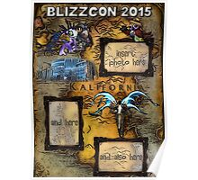 BlizzCon 2015 Poster Poster