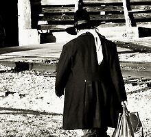 Drug Store Cowboy - Fort Worth Texas Stock Yards by jphall