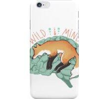 WILD MIND iPhone Case/Skin