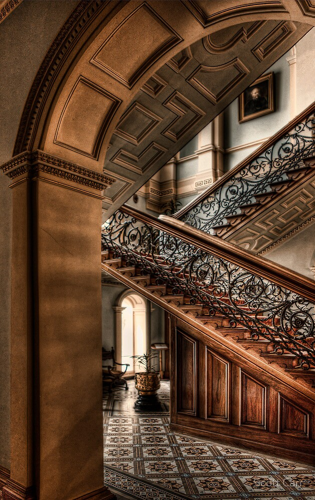 Werribee Mansion by Scott Carr