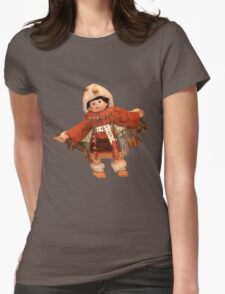 the little warrior Womens Fitted T-Shirt