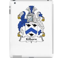 Coat of arms (family crest) for last-name or surname Kilburne or Kilborn . Heraldry banner for your name. iPad Case/Skin